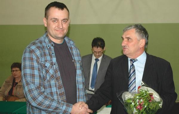 Michał Błaszkowski, nowy sołtys