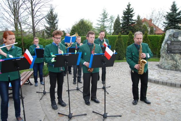 Orkiestra Chór Rur z GDKzB podczas uroczystości