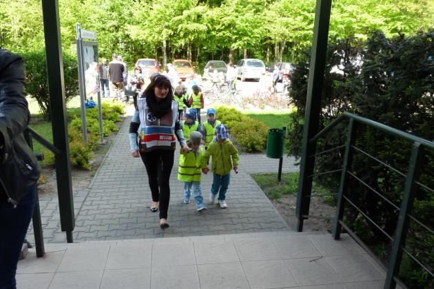 Najmłodsi od 3 do 6 lat przemaszerowali tego dnia przez Ksawerów