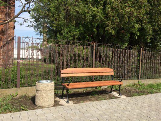 Nowa ławka przy ul. Wschodniej